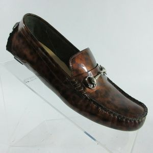 Cole Haan Shelby Bit II Tortoise Driving Moccasins